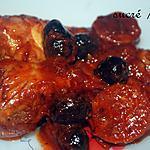 recette Pilons de poulet au chorizo et olives