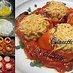 recette Tomates farcies en omelette.