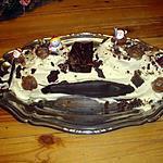 recette bûche chocolat blanc et marrons