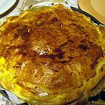 recette tourte au poulet,lardons fumés et champignons de chez nous crémés.