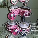recette Cupcakes Monster high