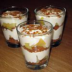 recette Tiramisu de Bastogne aux pommes en verrines