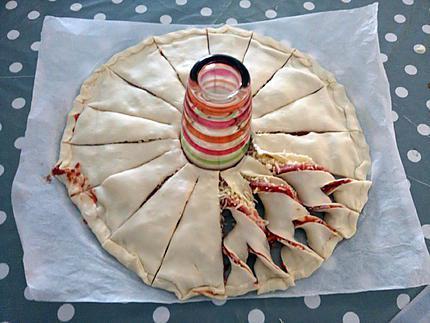 recette de tarte soleil façon pizza