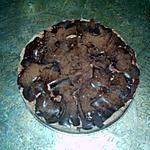 recette tarte génoise chocolat chantié