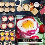 recette Croque madame au bacon