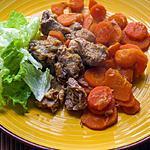 recette Porc à l'orange, aux épices et aux carottes