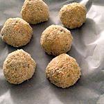 recette Arancini de mozarella et jambon