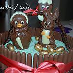 recette Gâteau de Pâques au chocolat et noix de coco