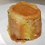 recette Charlotte individuelle banane/lemond curd