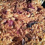 recette Gratin de millet aux champignons et tomates
