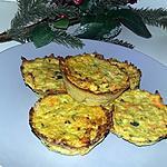 recette Palets de légume au four