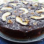 recette Moelleux chocolat pommes de Carmen