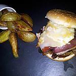recette Burger au magret de canard chévre et miel