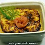 recette Petits flans au fenouil et truite fumée