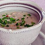 recette Soupe aux topinambours et noisettes