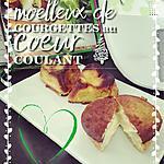 recette Moelleux de courgettes au coeur coulant