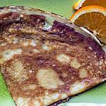 recette Crêpes à l'orange