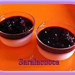 recette Panacotta aux fruits rouges