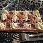 recette Gaufres (15 gaufres) avec sa chantilly au mascarpone.