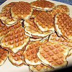 recette Gaufres fourrées à la vergeoise: Merci à Rosy et Melayers !