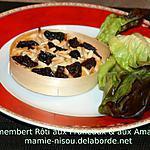 recette Camembert Rôti aux Pruneaux & aux Amandes