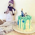 recette Layer cake noix de coco Reine des Neiges