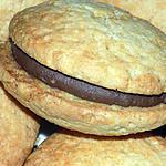 recette Whoopies chocolat éclats de praliné