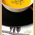 recette Soupe de Potiron, carottes et Mimolette