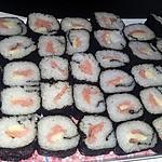recette Makis saumon kirri