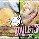 recette Roulé pommes de terres jambon fromage