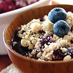 recette Croustade aux bleuets