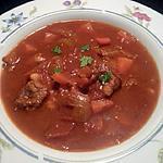 recette HRIRA, soupe algérienne... en version gros morceaux