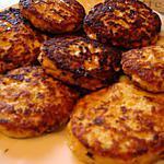 recette galettes de dinde à la mozzarella