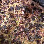 recette Tarte salée aux poireaux et jambon