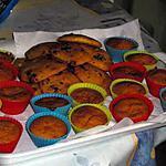 recette muffins a la citrouille  et cookies citrouille pépites aux chocolat