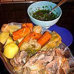 recette Tête et langue de veau à la sauce vinaigrette