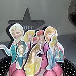 recette Pop cake Princesse pate a sucre