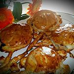 recette Petites galettes des rois à la frangipane et fruits rouges