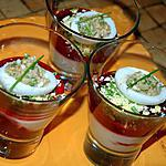 verrine betterave : recette Verrines à la betterave et tofu