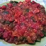 recette SALADE DE POIVRONS (MECHOUIA)
