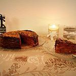 recette Gâteau de crêpes chocolat praliné