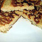 recette Gateau crêpe à la rhubarbe dukan
