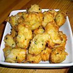 recette Accras de crabe