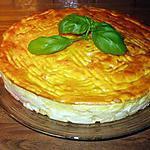 recette gâteau de pommes de terre au saumon fumé