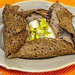 recette Galettes aux noix de pétoncle et poireaux