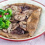 recette Galettes à l'andouille et aux oignons rouges