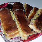 recette Brioches suisses a la crème patissière et pépites de chocolat
