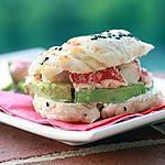 recette Avocado lobster bagel - Bagel au homard et à l'avocat