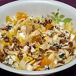 recette Salade d'endives aux oranges et noix