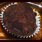 recette Tuffes au chocolat noir